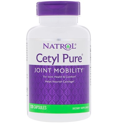 Natrol, Cetyl Pure, 120 капсул