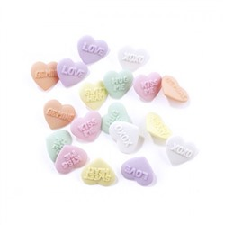 Набор пуговиц JESSE JAMES 3505 ASSORTED VALENTINE BUTTONS-CANDY KISSES 1 упак